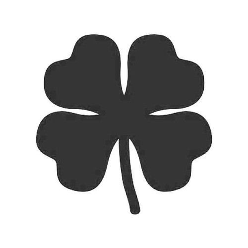 Saint Patrick Clover Leaf Vinyl Sticker