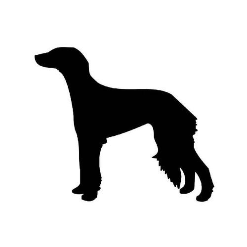 Saluki Dog Vinyl Sticker