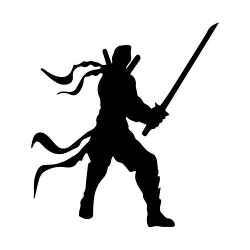 Samurai Ninja Warrior Japanese Vinyl Sticker