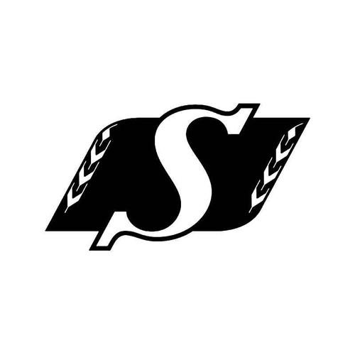 Saskathchewan Roughrigers Football Vinyl Sticker