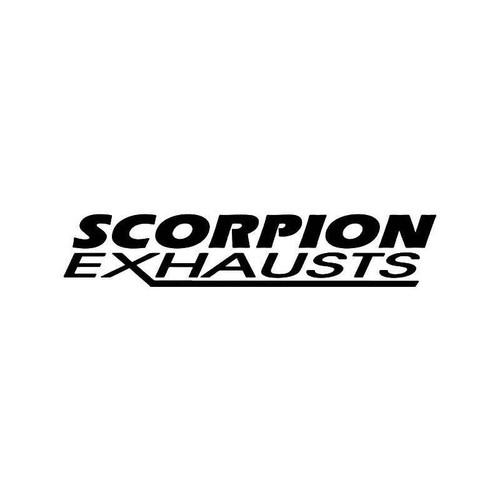Scorpion Exhausts Vinyl Sticker