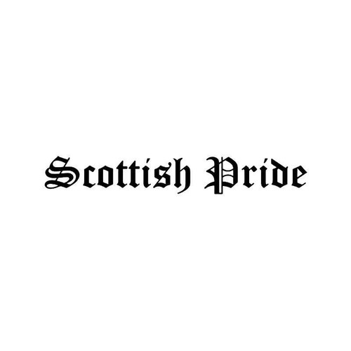 Scottish Pride Vinyl Sticker