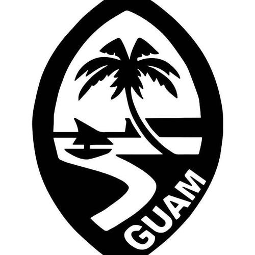 Seal Of Guam Vinyl Sticker