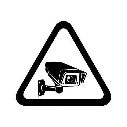 Security Camera Sign 2 Vinyl Sticker