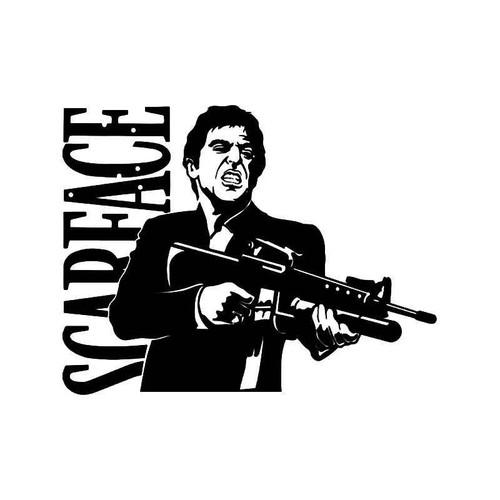 Sface Tony Montana Vinyl Sticker