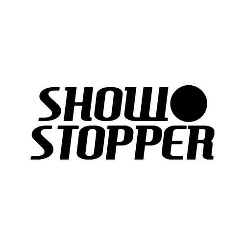 Show Stopper Jdm Japanese Vinyl Sticker