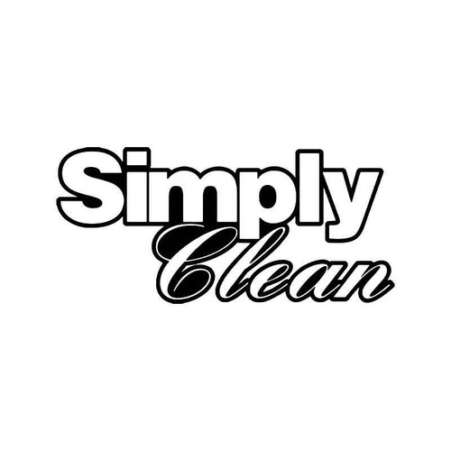 Simply Clean Jdm Japanese 2 Vinyl Sticker