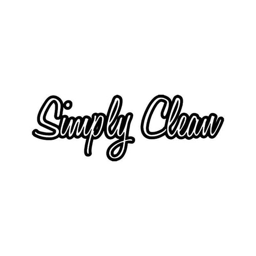 Simply Clean Jdm Japanese 5 Vinyl Sticker