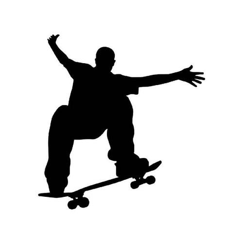 Skateboarding 3 Vinyl Sticker