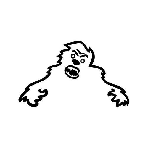 Skoda Yeti Monster Vinyl Sticker