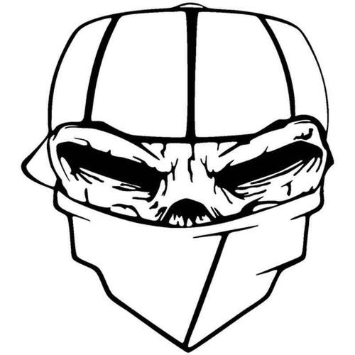 Skull It 320 Vinyl Sticker