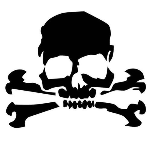 Skull 1260 Vinyl Sticker