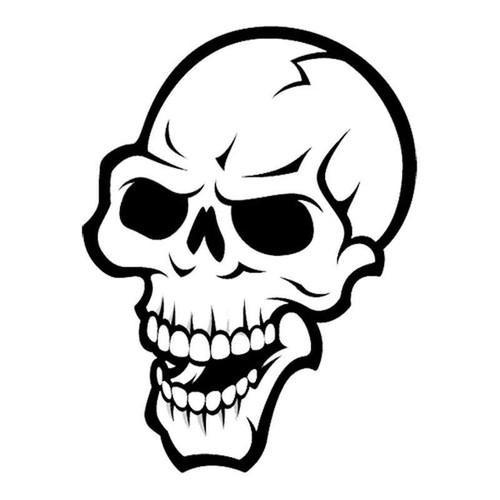 Skull 249 Vinyl Sticker