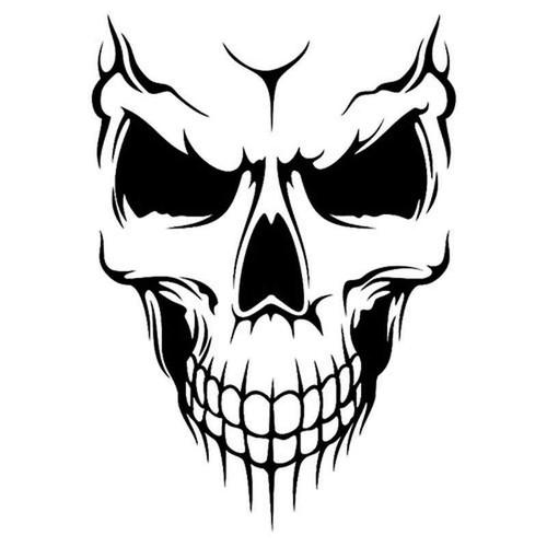 Skull 347 Vinyl Sticker