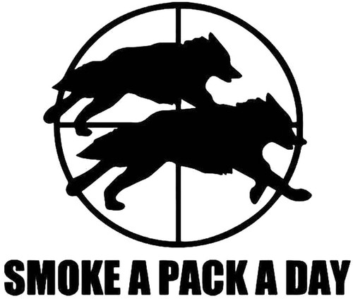 Smoke A Pack A Day Wolves