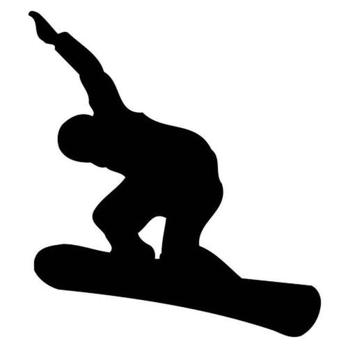 Snowboarding 1875 Vinyl Sticker