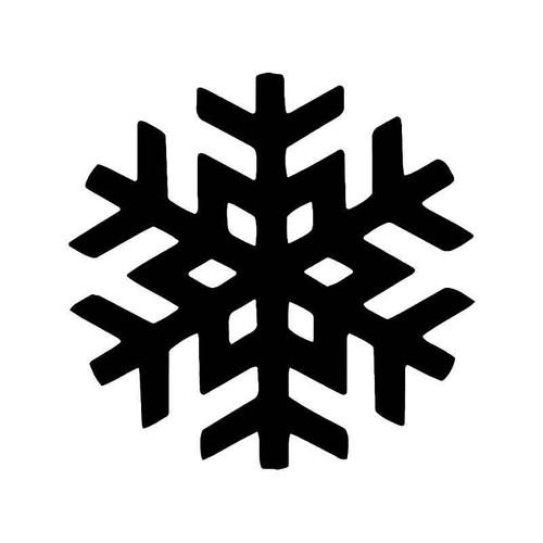 Snowflake Snow Vinyl Sticker