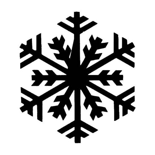 Snowflake Snow 6 Vinyl Sticker