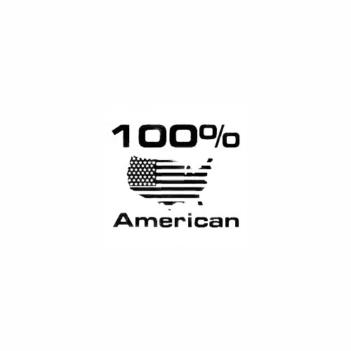 100% American Decal Size option will determine the size from the longest side Industry standard high performance calendared vinyl film Cut from Oracle 651 2.5 mil Outdoor durability is 7 years Glossy surface finish