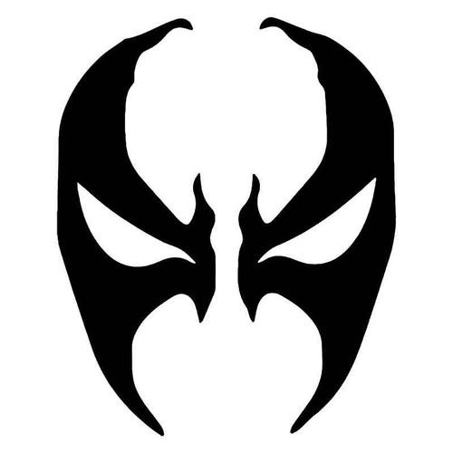 Spawn Face Mask Vinyl Sticker