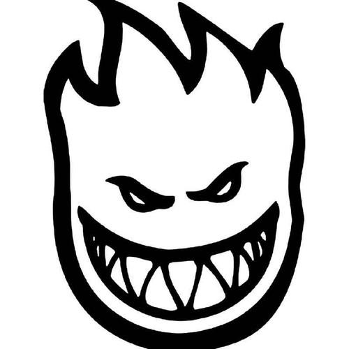 Spitfire Flame Skate Logo Vinyl Sticker