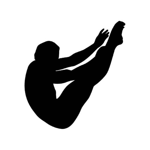 Sport Diving 4 Vinyl Sticker