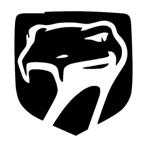 Srt Viper Badge Vinyl Sticker