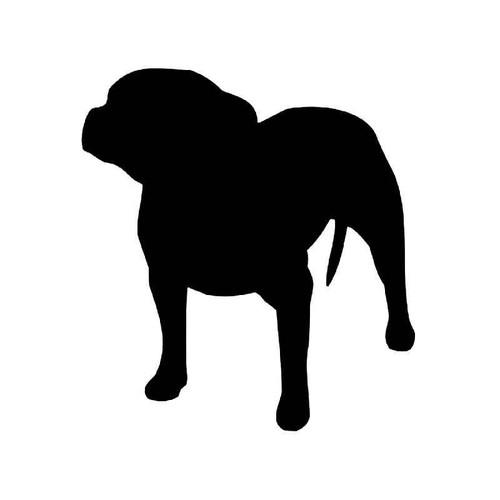 Staffordshire Bull Terrier Dog Vinyl Sticker
