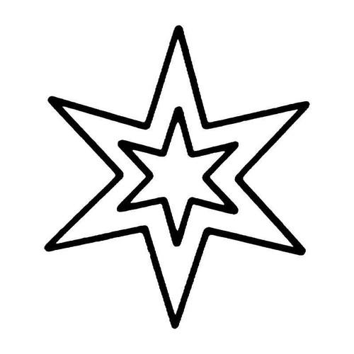 Star 1 Vinyl Sticker