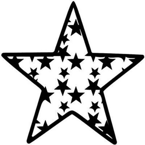 Star 1047 Vinyl Sticker
