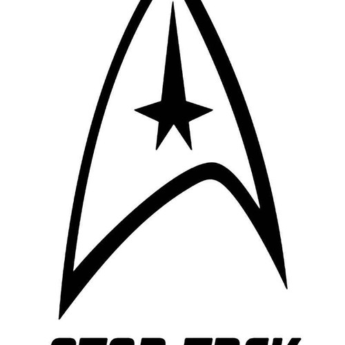 Star Trek Vinyl Sticker