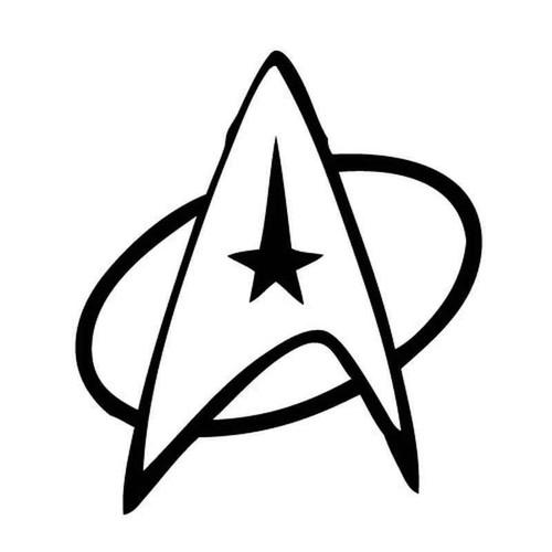 Star Trek 1362 Vinyl Sticker