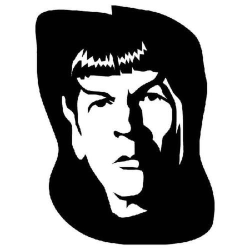Star Trek Spock 974 Vinyl Sticker