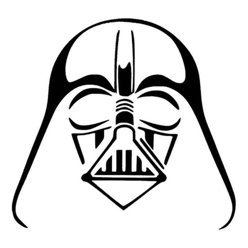 Star Wars Dh Vader 1024 Vinyl Sticker
