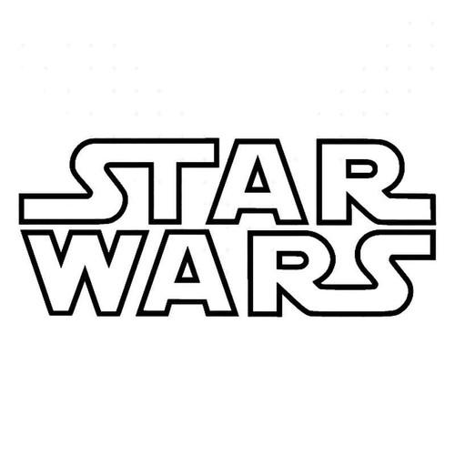 Star Warsoutline Vinyl Sticker