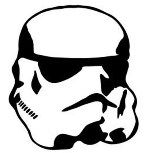 Star Wars Storm Tropper 372 Vinyl Sticker