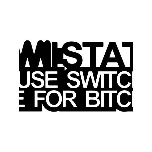 Static Switches For Bitches Jdm Japanese 2 Vinyl Sticker