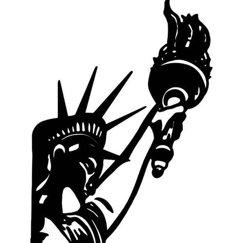 Statue Liberty New York 2 Vinyl Sticker