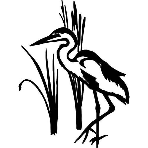 Stork Bird 1 Vinyl Sticker