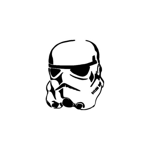 Stormtrooper Star Wars 2 Vinyl Sticker