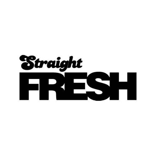 Straight Fresh Jdm Japanese 1 Vinyl Sticker