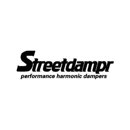 Streetdampr Vinyl Sticker