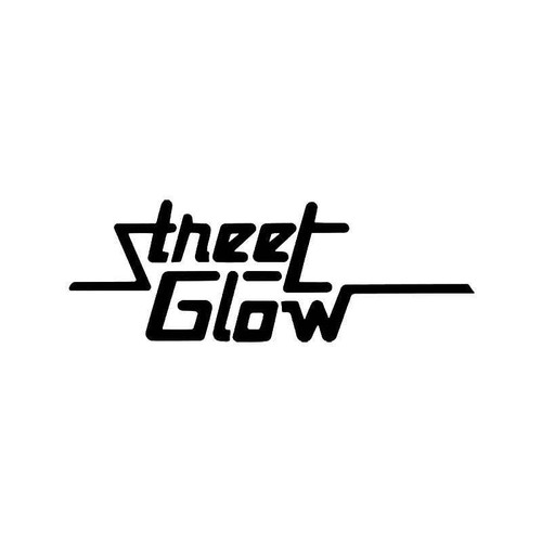 Streetglow 1 Vinyl Sticker