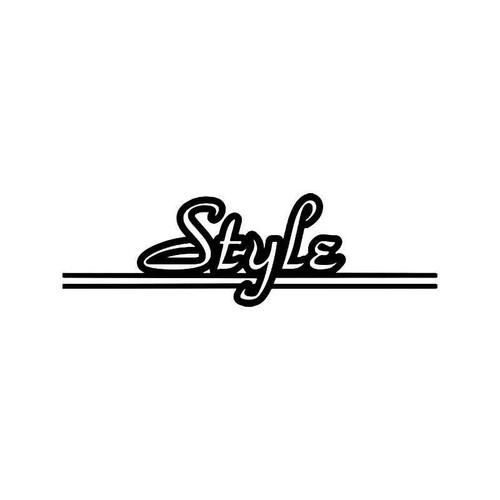 Style Jdm Japanese Vinyl Sticker
