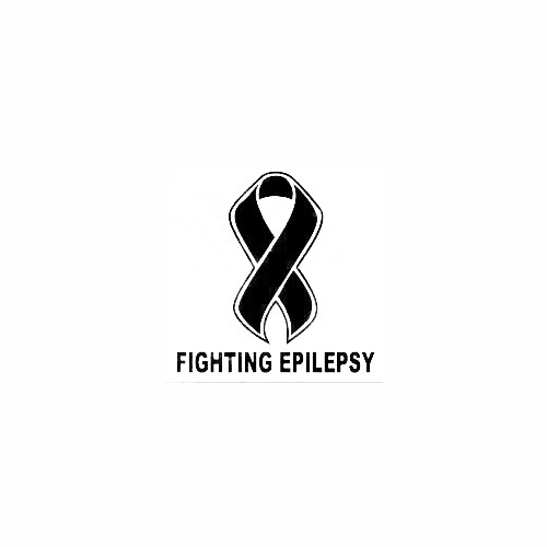 Fighting Epilepsy Ribbon Decal (01) Size option will determine the size from the longest side Industry standard high performance calendared vinyl film Cut from Oracle 651 2.5 mil Outdoor durability is 7 years Glossy surface finish