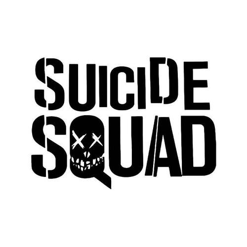 Suicide Squad 1 Vinyl Sticker