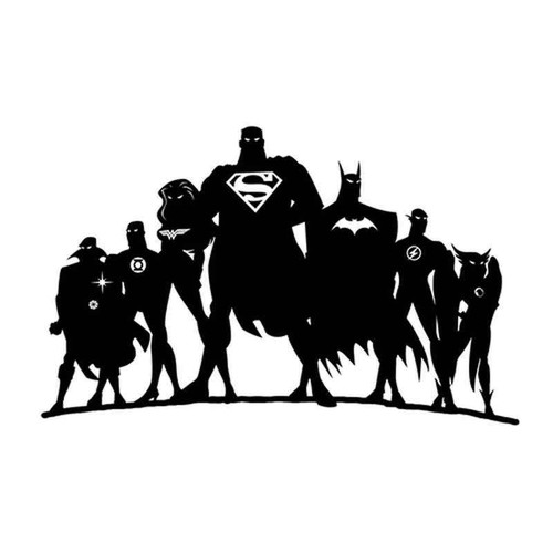 Super Heros 1825 Vinyl Sticker