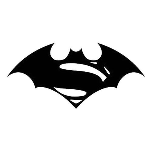 Superman Vs Batman 735 Vinyl Sticker