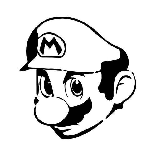 Super Mario Gaming 2 Vinyl Sticker