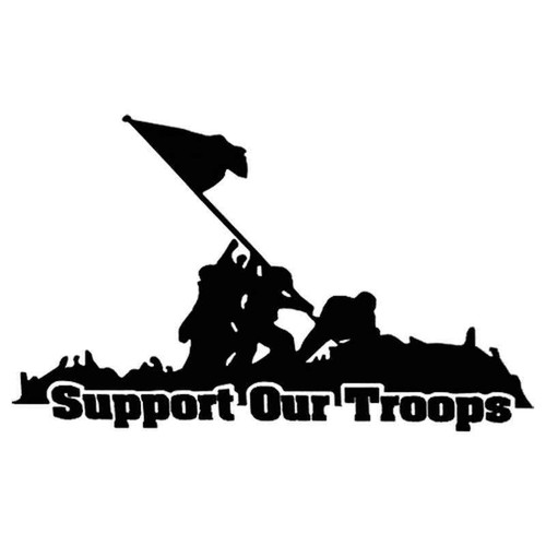Support Our Troops 1033 Vinyl Sticker